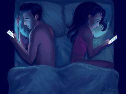Иллюстрации об отношениях в паре