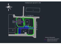 План участка в поселке городского типа