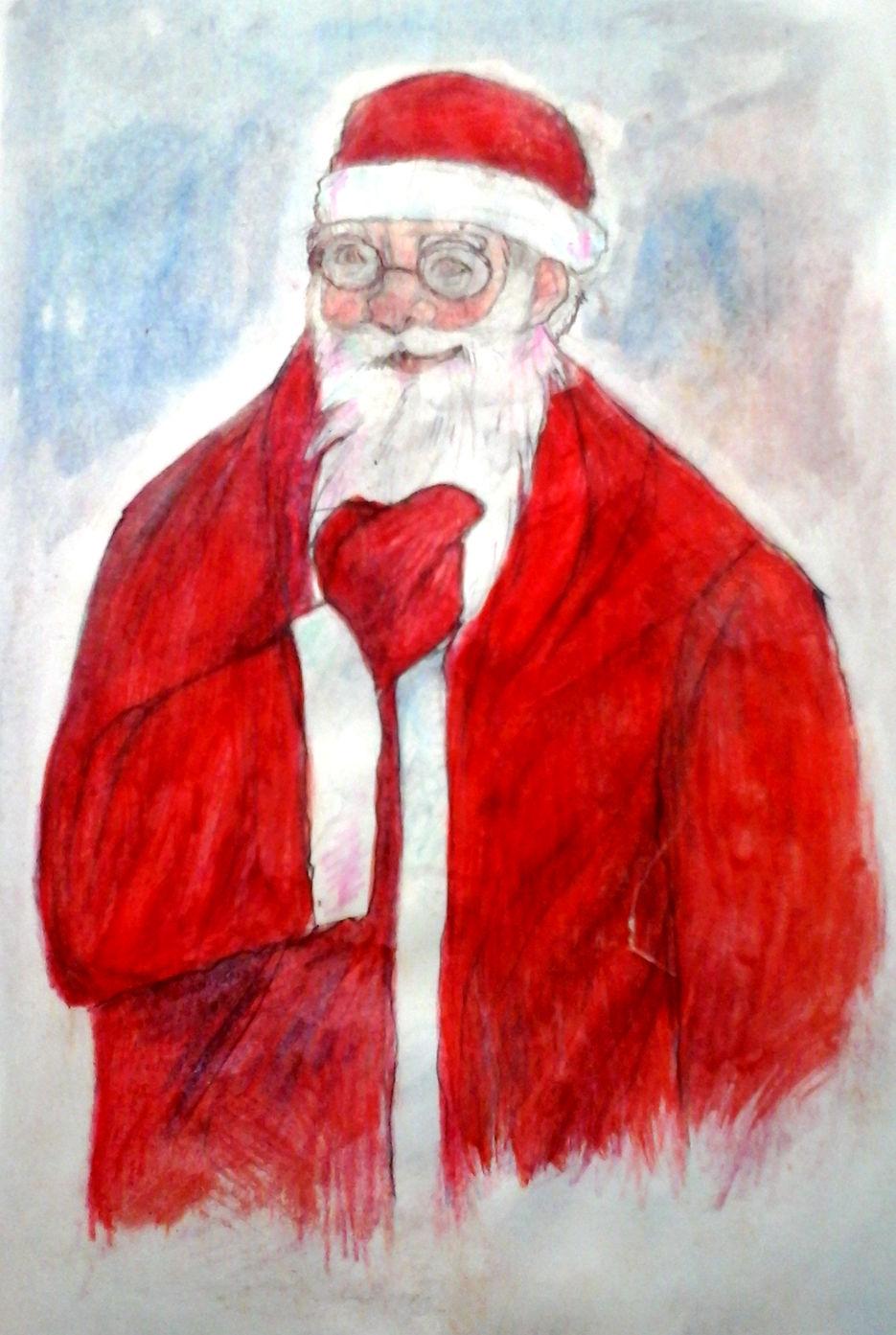 Дедушка Мороз портрет