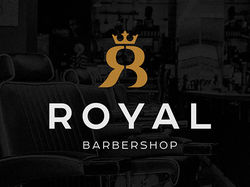 Логотип Royal Barbershop