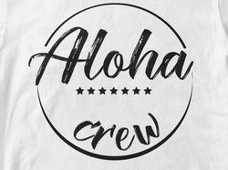 Логотип. Aloha crew