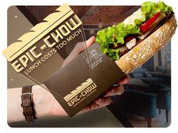 Разработка логотипа Epic-Chow