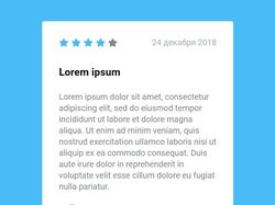 HTML / CSS - Review