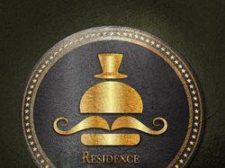 "Логотип "" Residence "" Бургерная."