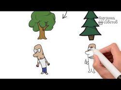 Анимационный ролик (Рисует рука)