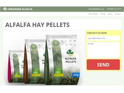 Сайт для Ukrainian Alfalfa