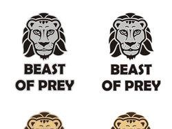 """Логотип конкурса """"Beast of prey"""""""