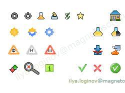 Иконки для интернет-магазина СуперКолесо