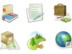 Иконки для сайта компании Магнетософт