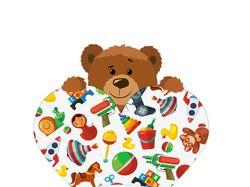 Логотип для магазина игрушек