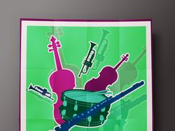 Постер к музыкальному фестивалю
