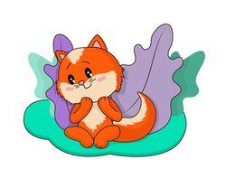 character illustration in cartoon style