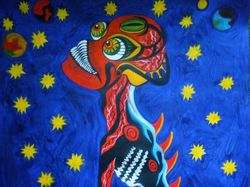 Фэнтези -абстракция и иллюстрация