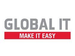 Логотип для ит-подразделения GLOBAL IT