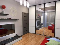 дизайн комнаты двушки 95-й серии