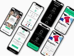 Дизайн мобильной версии Esquire Shop Kazakhstan