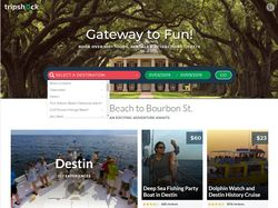 Portal for booking trips and activities