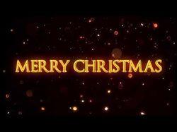 merry christmas intro
