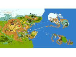 Карта браузерной игры League17