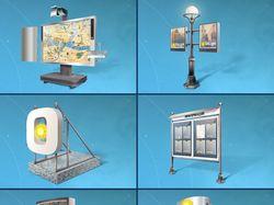 Большие иконки типов изготавливаемой рекламной про
