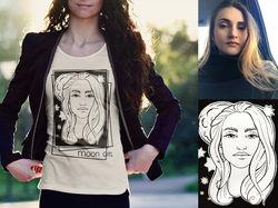 Портрет, стилизация, графика