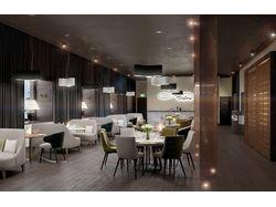 3D визуализация ресторана
