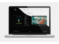 Сайт музыкального исполнителя.