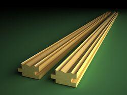 Пример деревянной планки