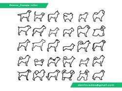 Иконки 30 пород собак