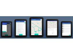 Мобильное приложение водителя мусоровоза