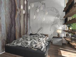 Дизайн-проект комнаты в эко-стиле