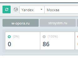 Продвижение сайта w-opora.ru в ТОП-1