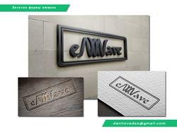 """Логотип """"emwave"""""""