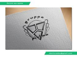 """Логотип для музыкальной группы """"piatna"""""""