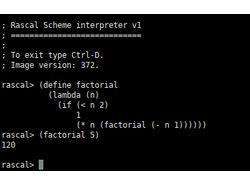 Компилирующий интерпретатор Scheme