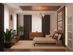 Спальня (частный дом)