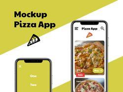 Mockup Pizza App