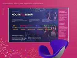 Плакат для конкурса Мосты над Невой 2018