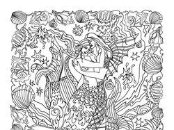 иллюстрации к раскраске для взрослых антистресс