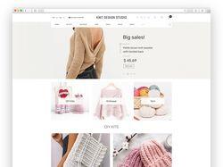 Интернет-магазин для компании Knitdesign