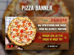 Pizza Facebook banner