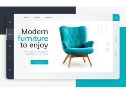 Главный Экран Мебельного Сайта