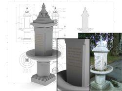 Реставрация обелиска