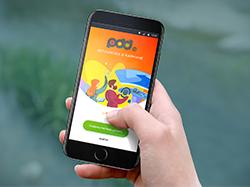 Дизайн мобильного приложения для автошколы
