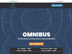 Верстка макетов сайта Omnibus + Таблицы вывода инф