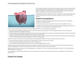 Управление процедурой банкротства