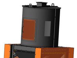 Охладитель гранул (пеллет) 1,2 м. куб.