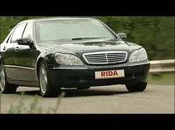 Mercedes 600. 2004 год. Бронированные автомобили