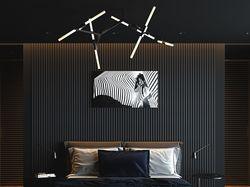 Визуализация Гостиной и Спальни