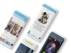 Maneno. Приложение для детей для чтения книг